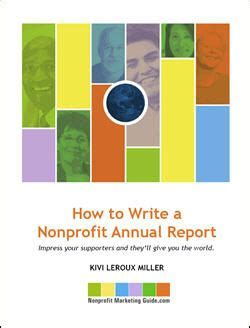 Best bits: how to write the best annual report Voluntary